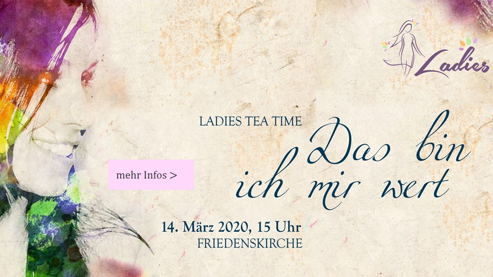 Ladies Tea Time am 14. März 2020
